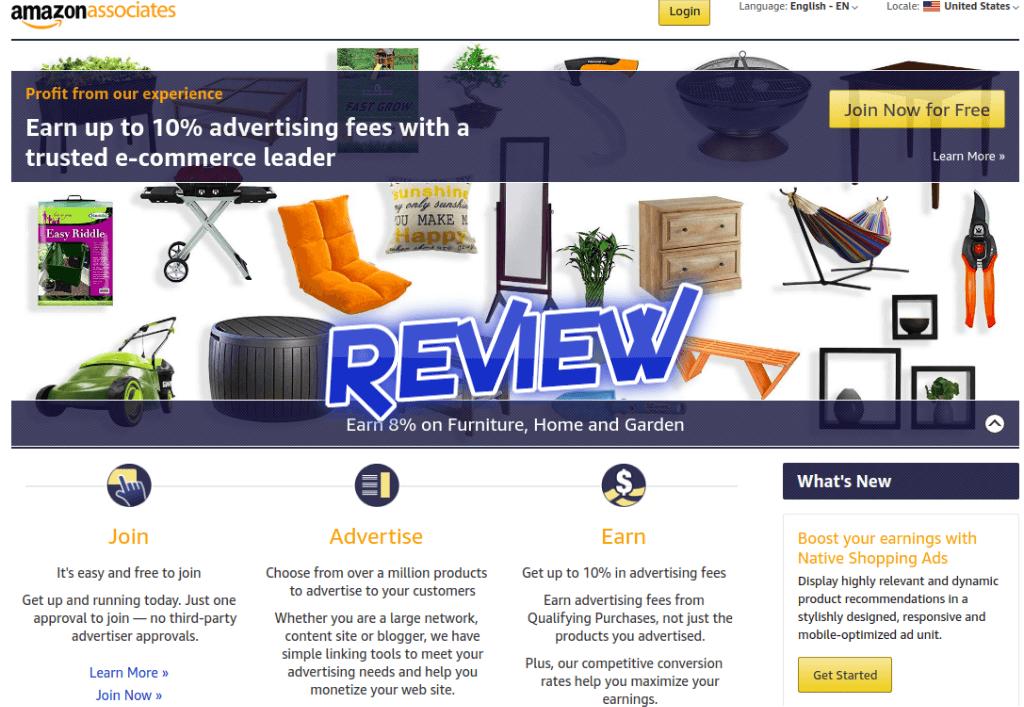 Amazon Associates Review